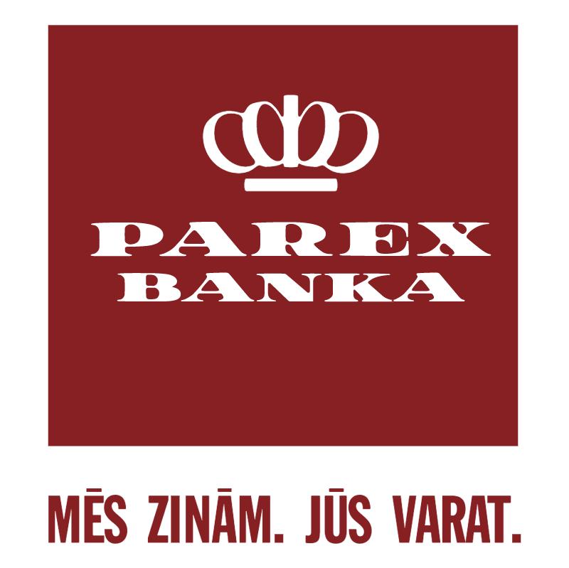Parex Banka vector logo