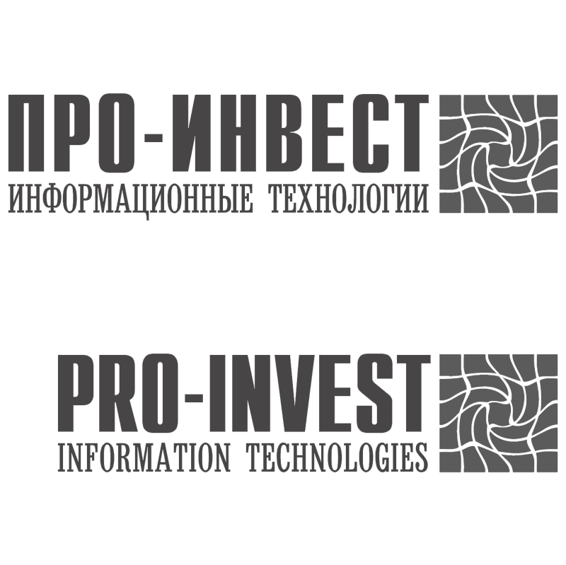 Pro Invest vector