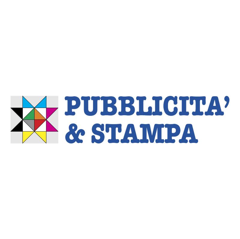 Pubblicit & Stampa vector