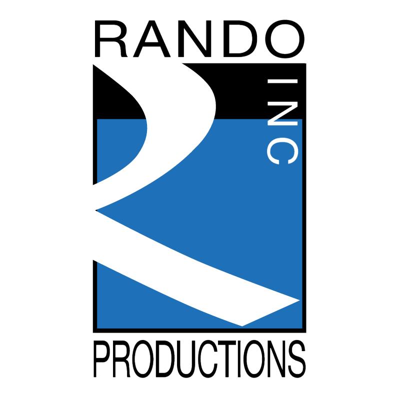 Rando Productions vector logo