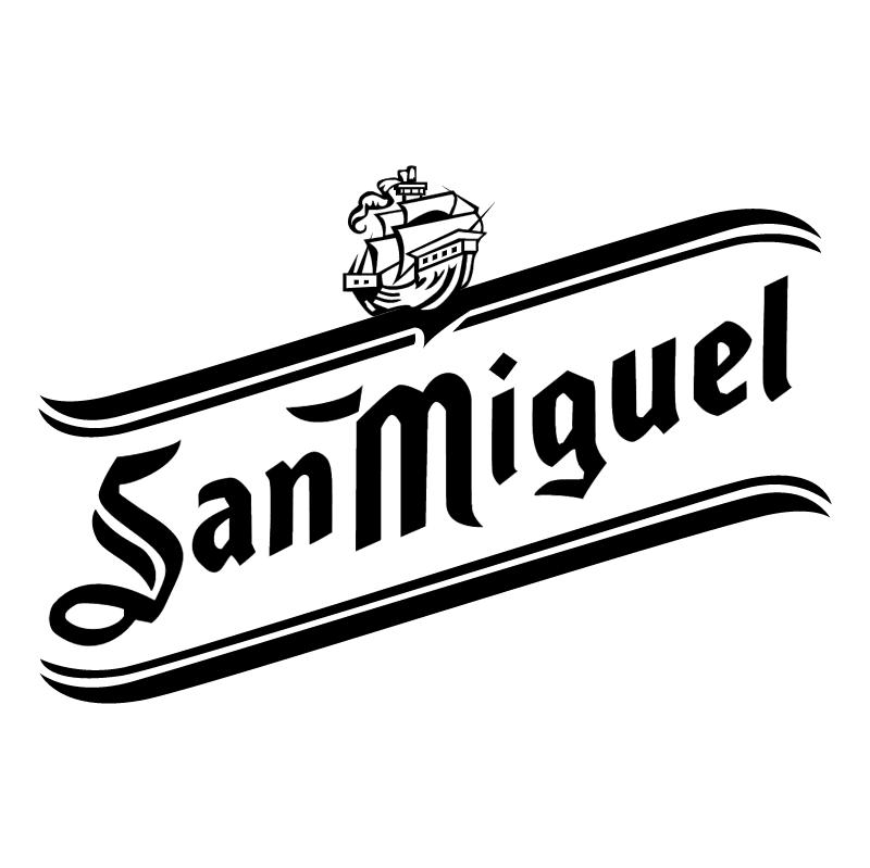 San Miguel Cerveza vector logo