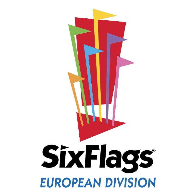 Six Flags European Division vector