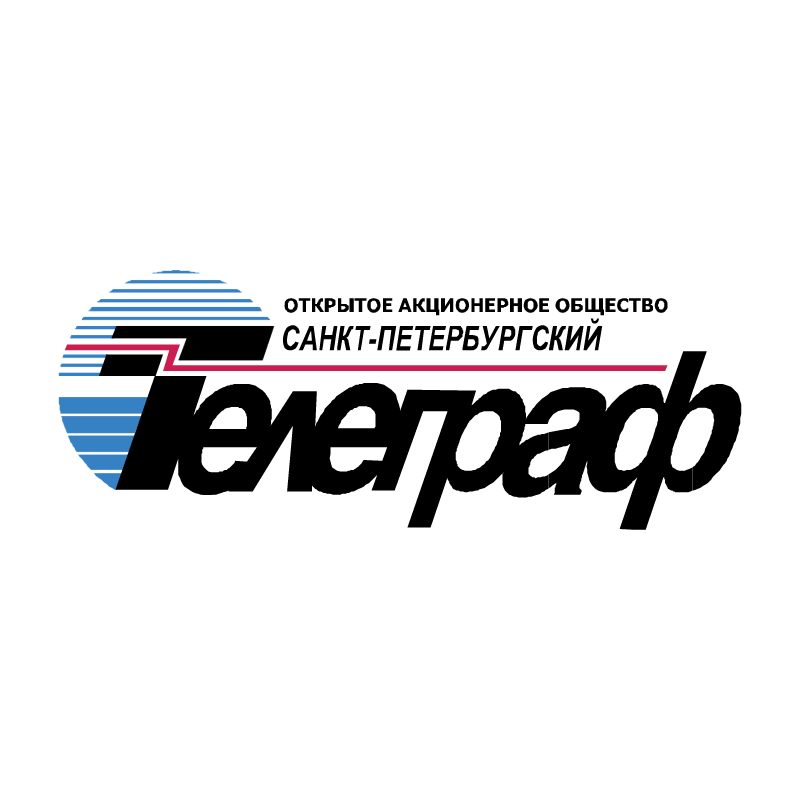 Telegraf Sankt Petersburg vector