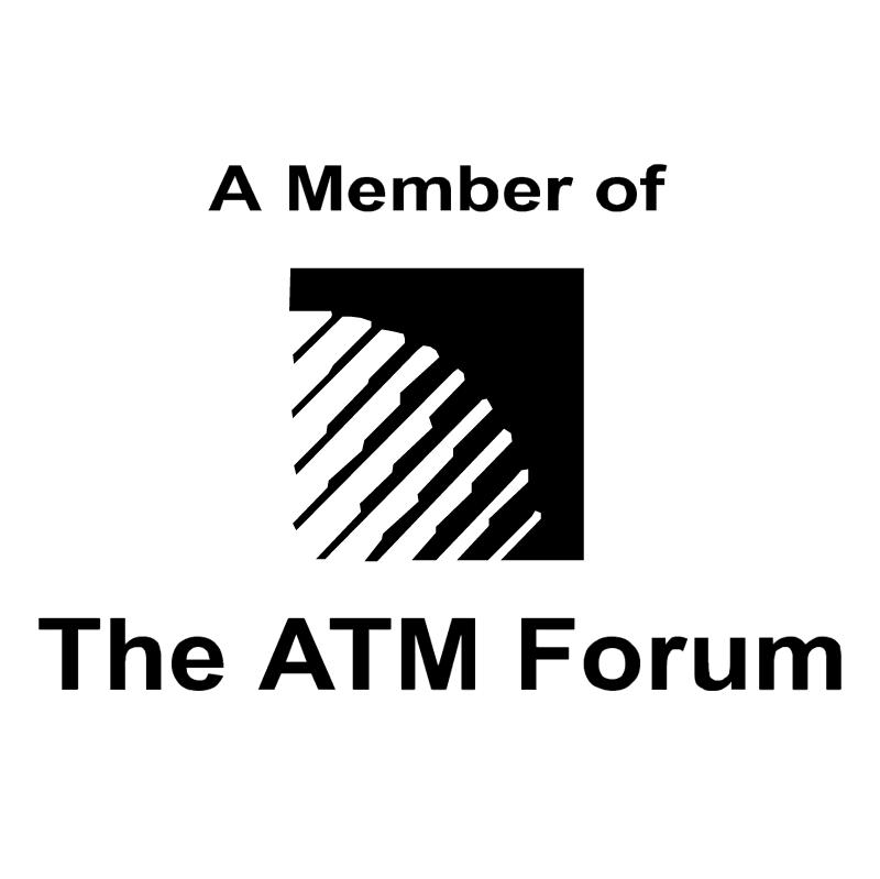 The ATM Forum vector logo