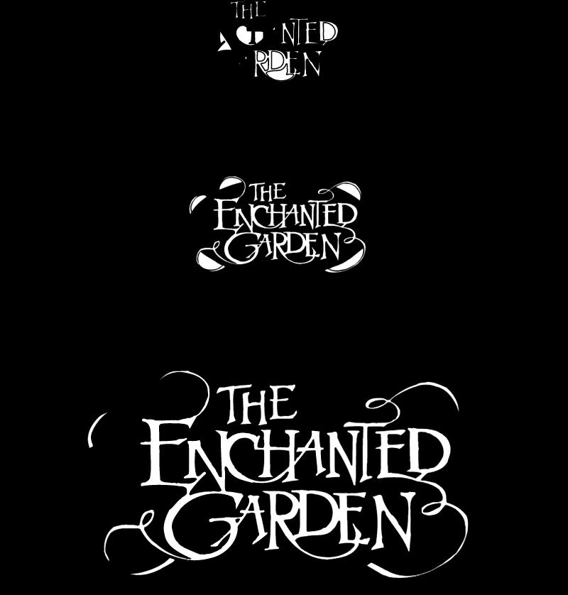 The Enchanted Garden vector