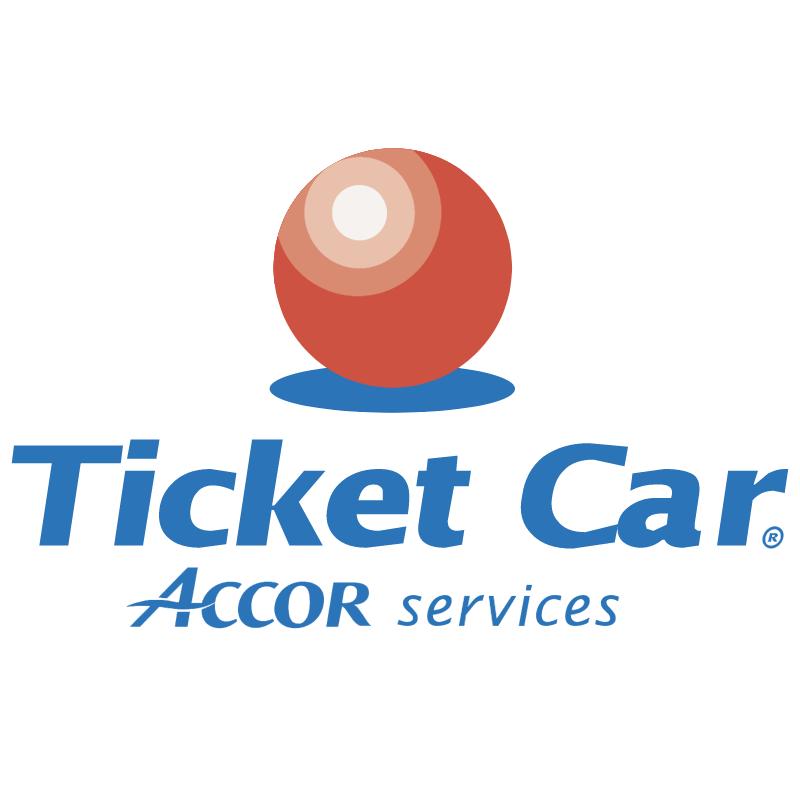 Ticket Car vector