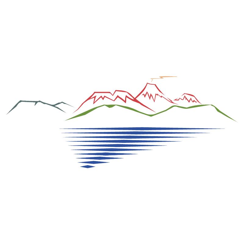 Tongariro Taupo vector