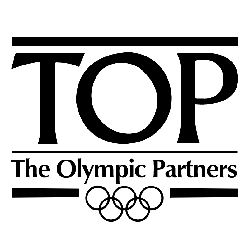 Top The Olympic Partners vector logo