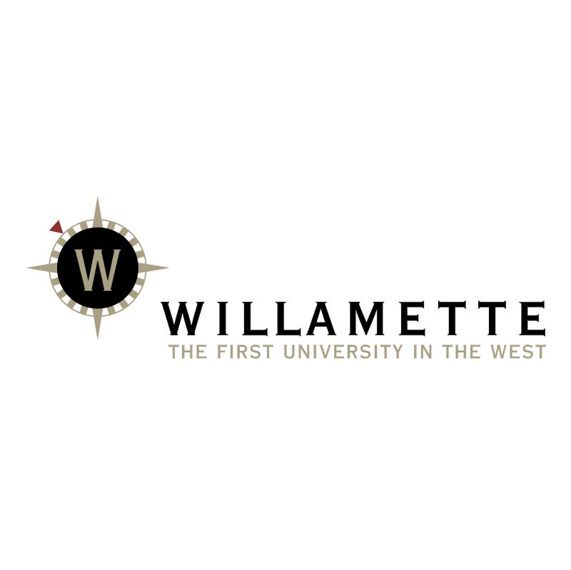 Willamette University vector