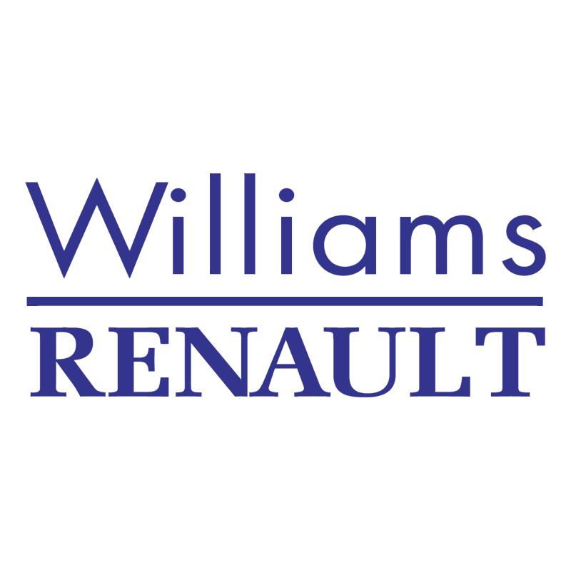 Williams Renault F1 vector