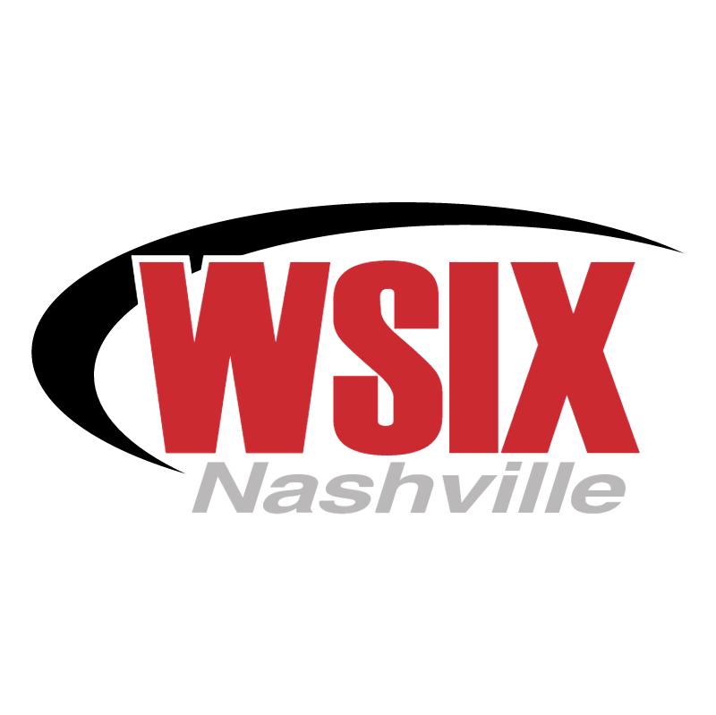 WSIX Nashville vector