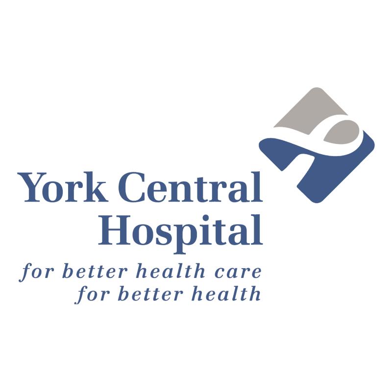 York Central Hospital vector logo