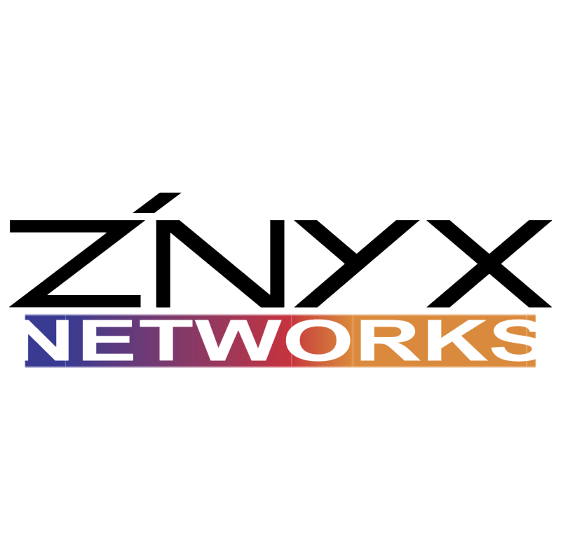 ZNYX Networks vector logo