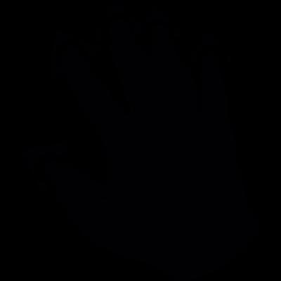 Five Fingers pressure vector logo
