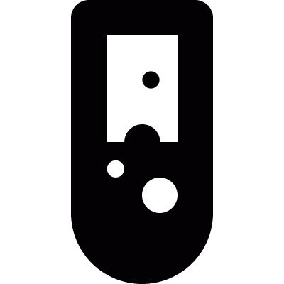 Test tube vector logo