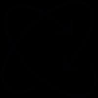 Two Circular Arrows vector