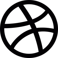 Dribble logo vector