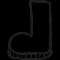 Gardering Boot vector