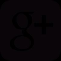 Social google plus square button vector