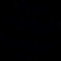 Striped sphere vector