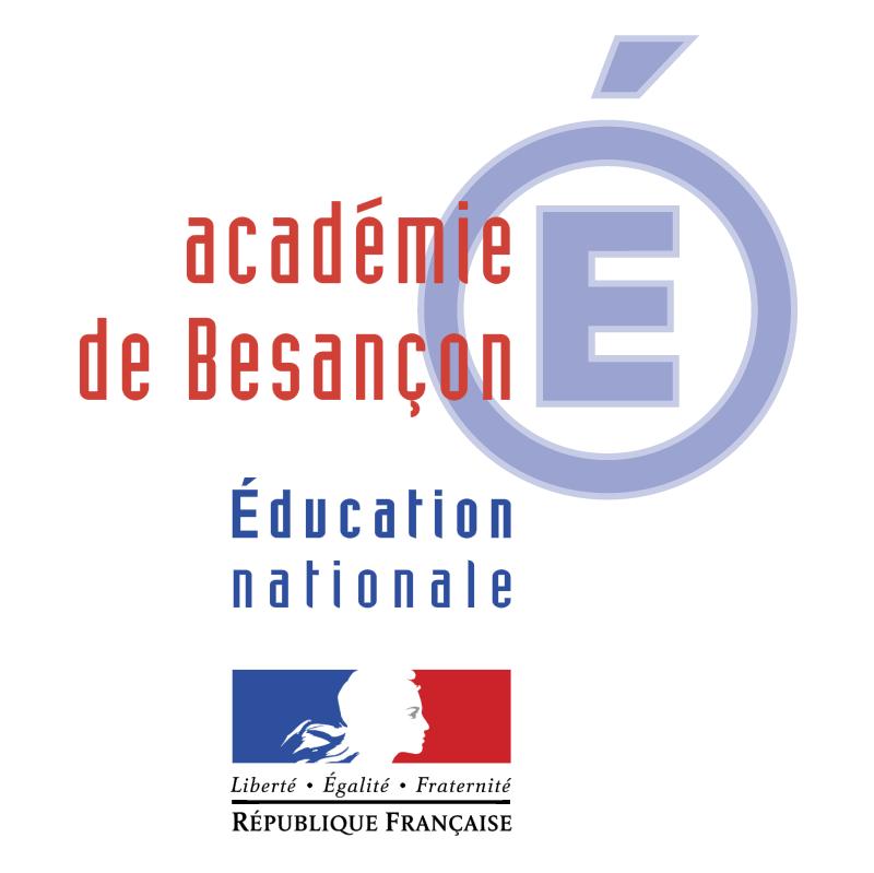 Academie de Besancon 52130 vector