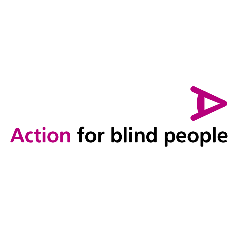 Action for Blind People vector