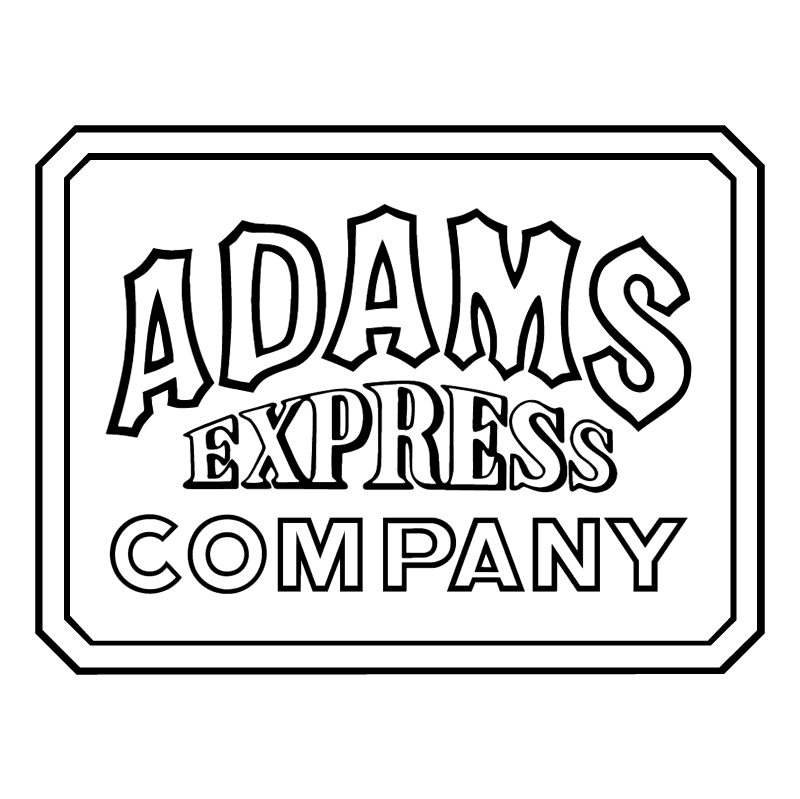 Adams Express Company 22592 vector
