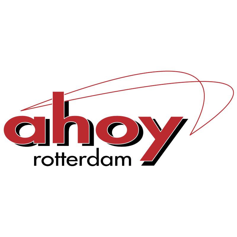 Ahoy Rotterdam vector