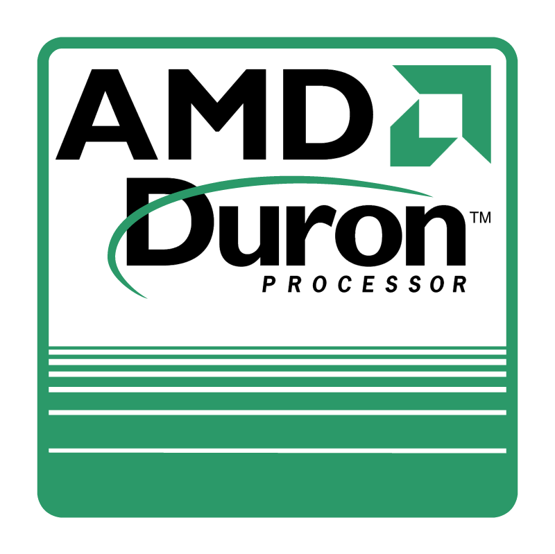 AMD Duron Processor 42551 vector