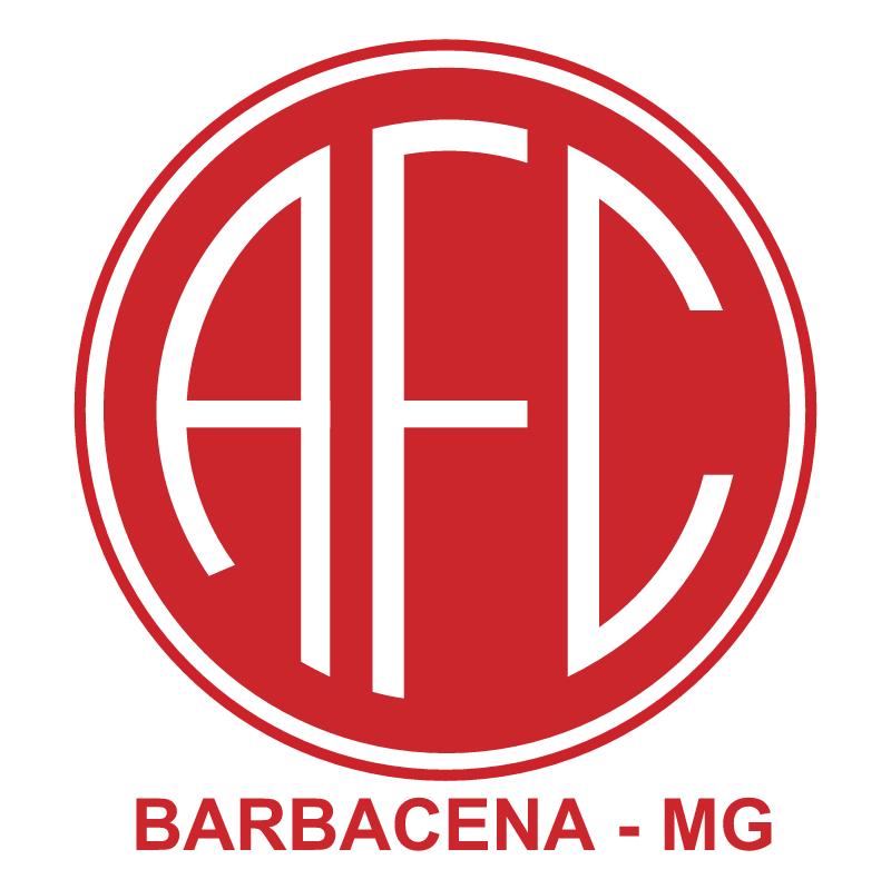 America Futebol Clube de Barbacena MG vector