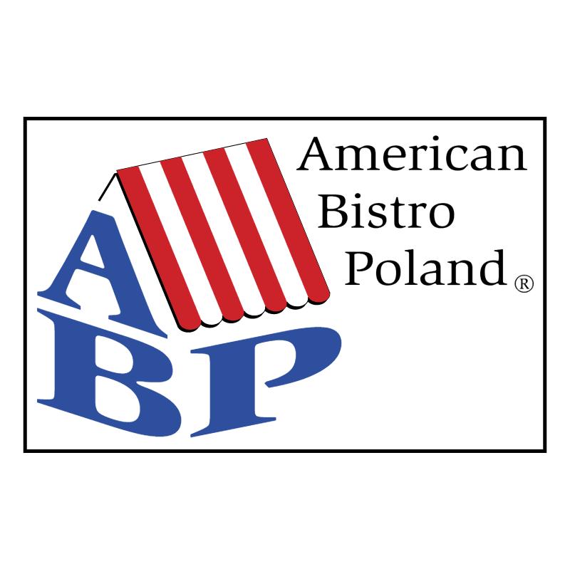 American Bistro Poland vector