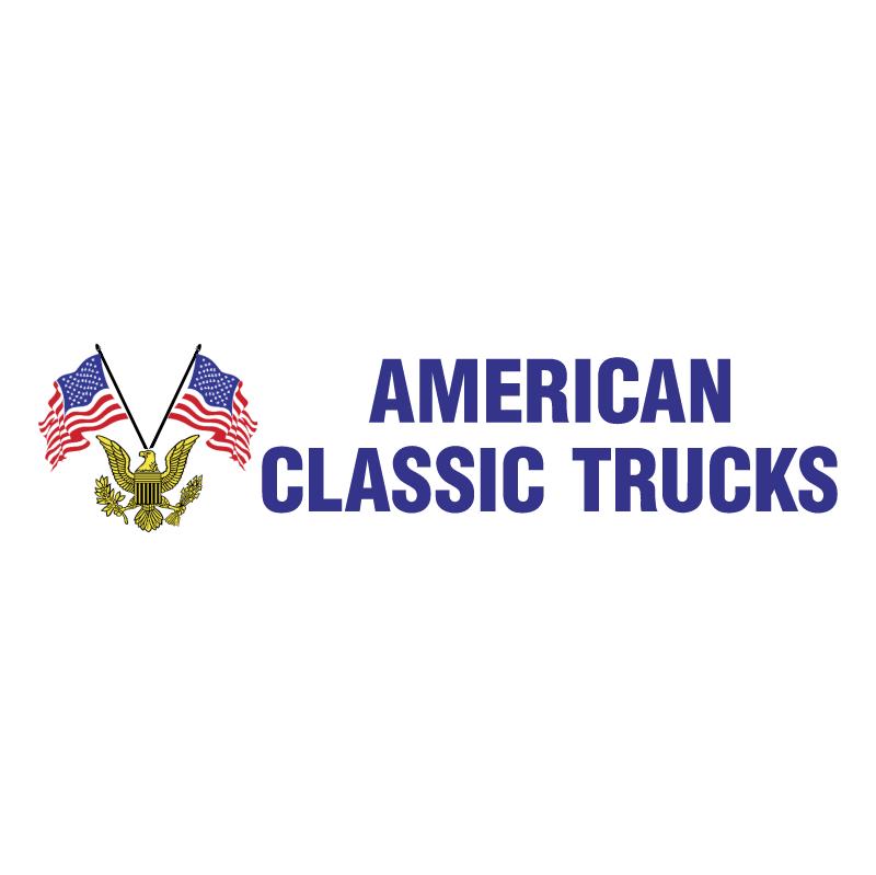 American Classic Trucks 57191 vector