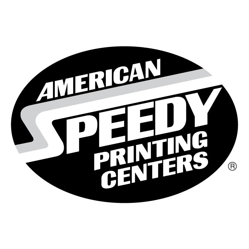 American Speedy Printing Centers 55727 vector