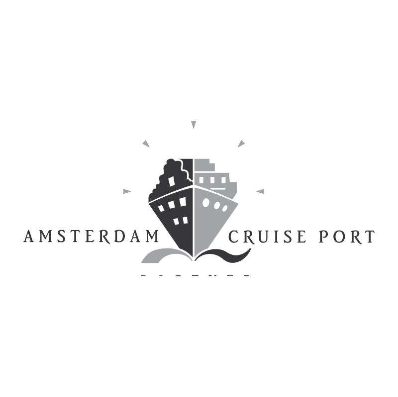 Amsterdam Cruise Port 58858 vector