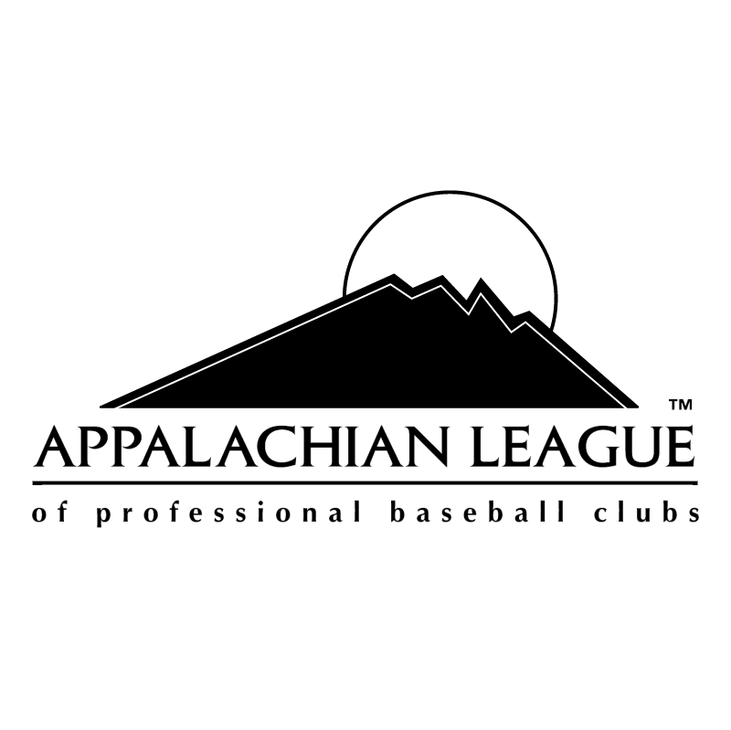 Appalachian League 58750 vector