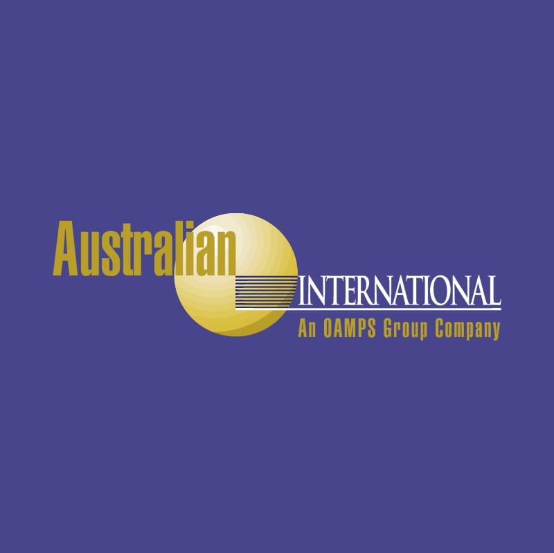 Australian International Insurance 71215 vector logo