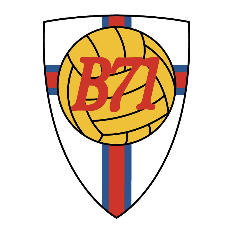 B71 Sandoy vector