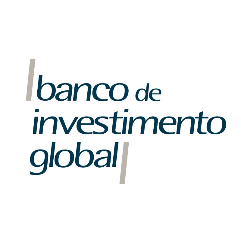 Banco de Investimento Global vector