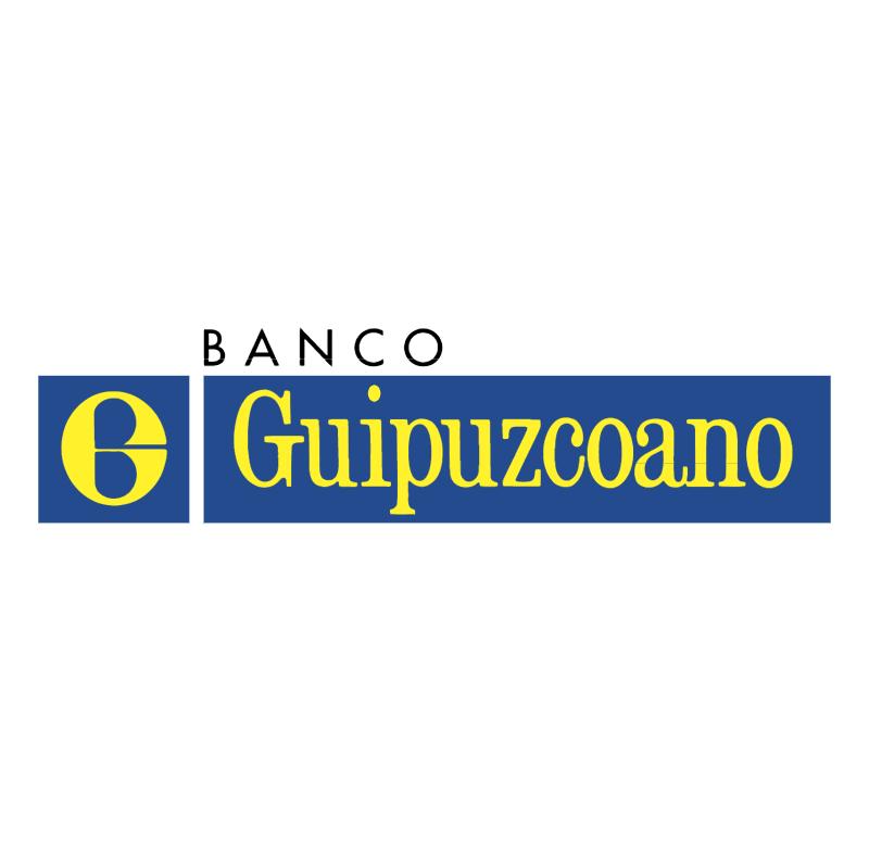 Banco Guipuzcoano vector