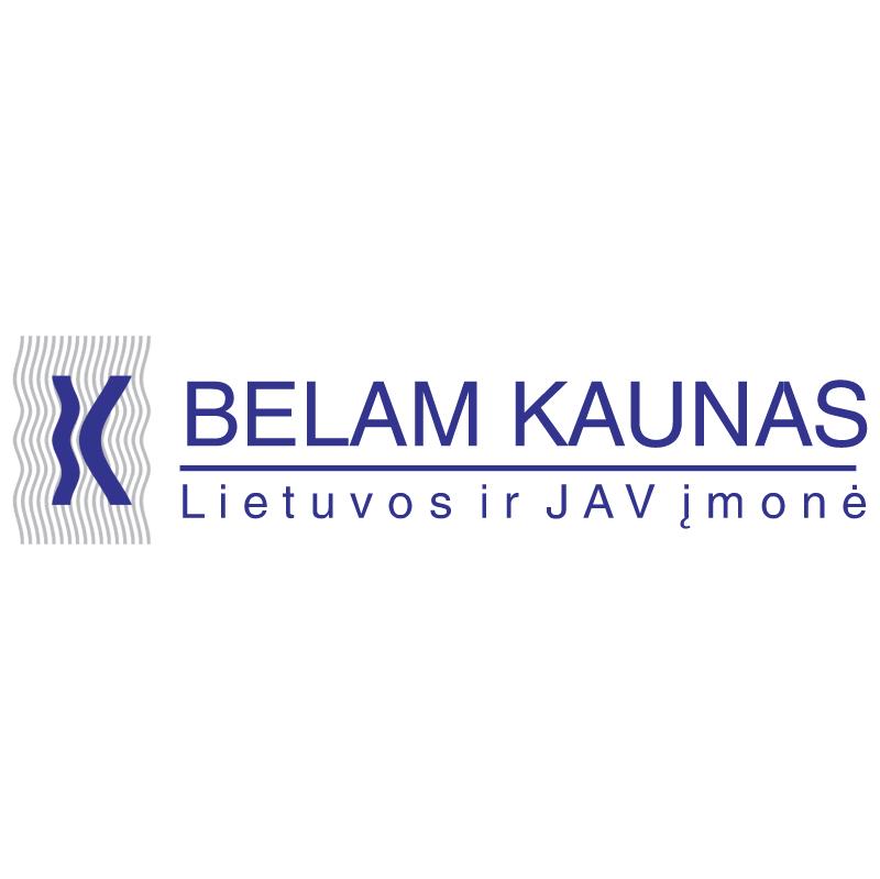 Belam Kaunas vector