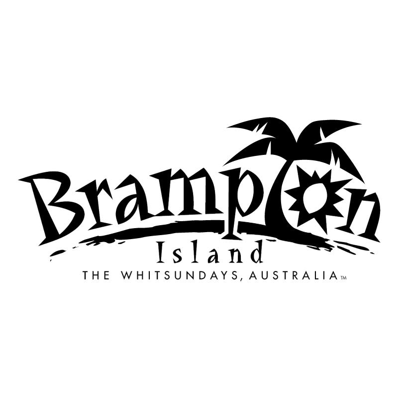 Brampton Island 73072 vector