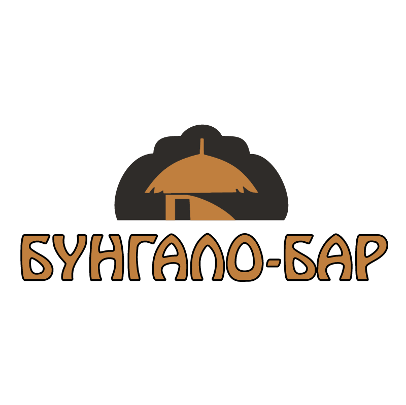 Bungalo Bar vector logo