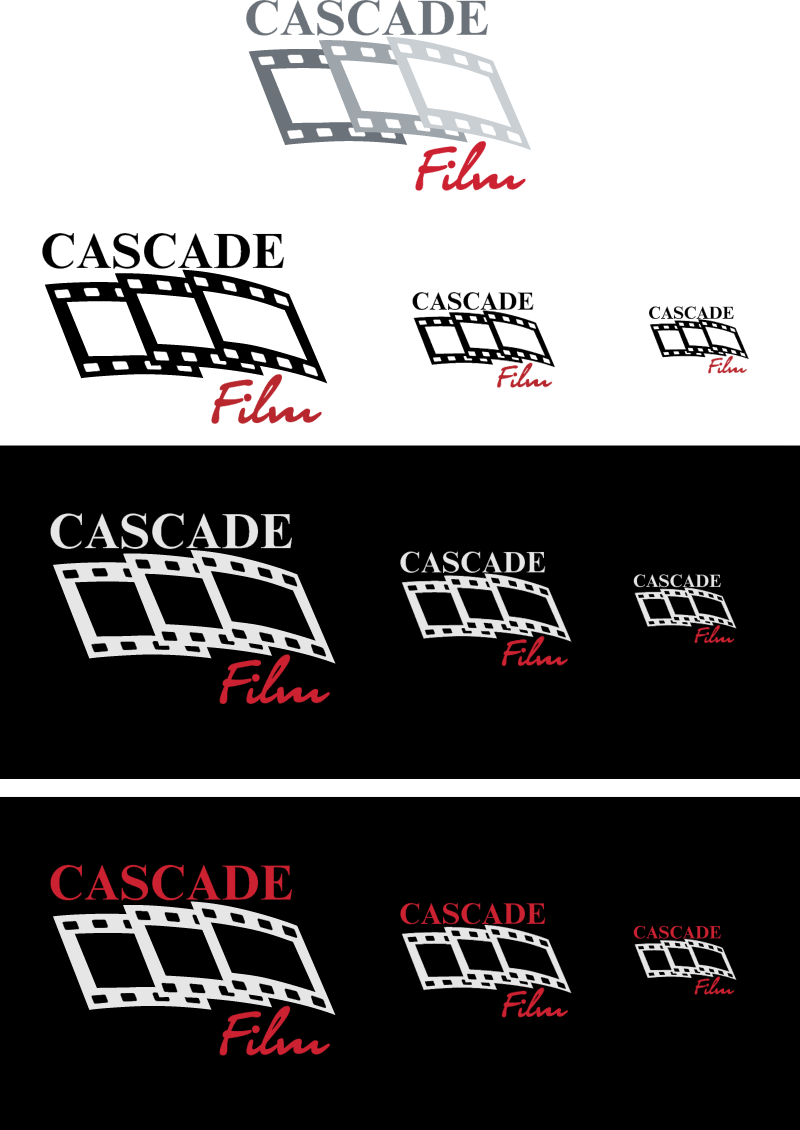 Cascade Film guidelines vector logo
