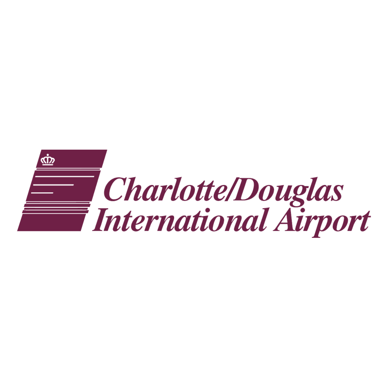 Charlotte Douglas International Airport vector logo