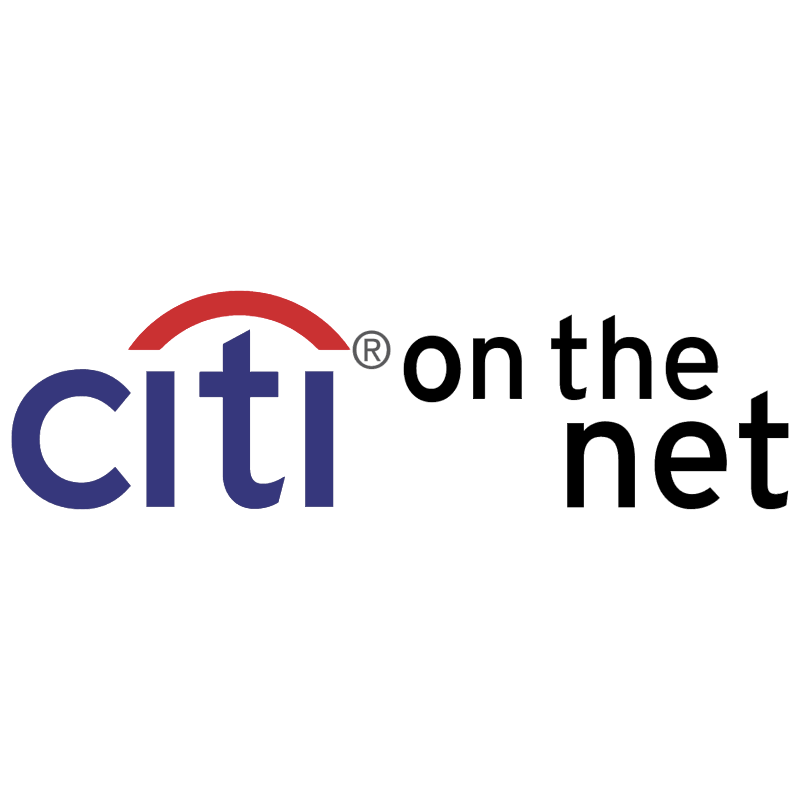 Citi on the net vector