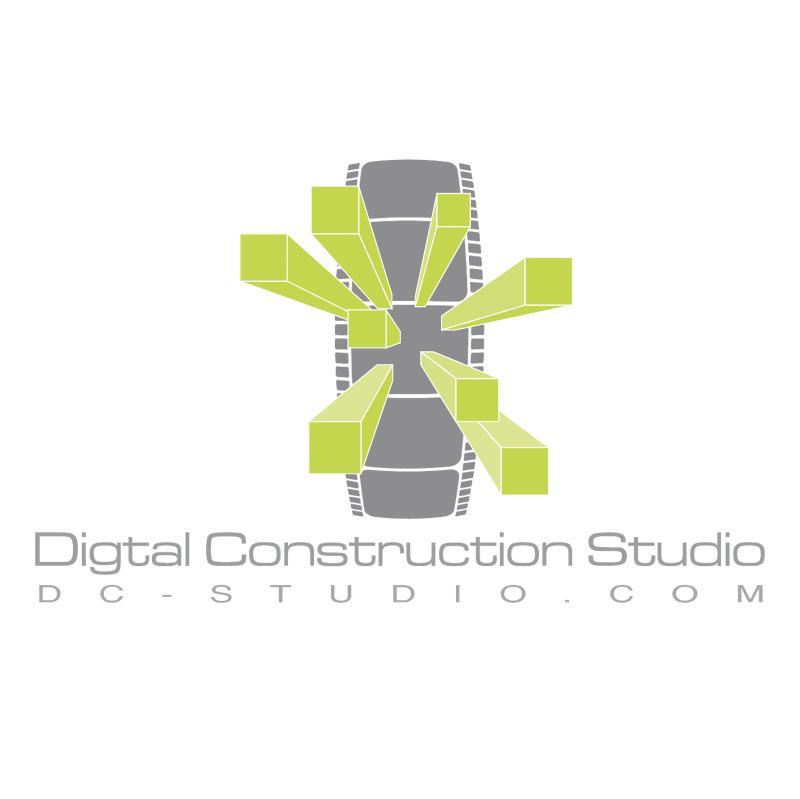Digital Construction Studio vector logo