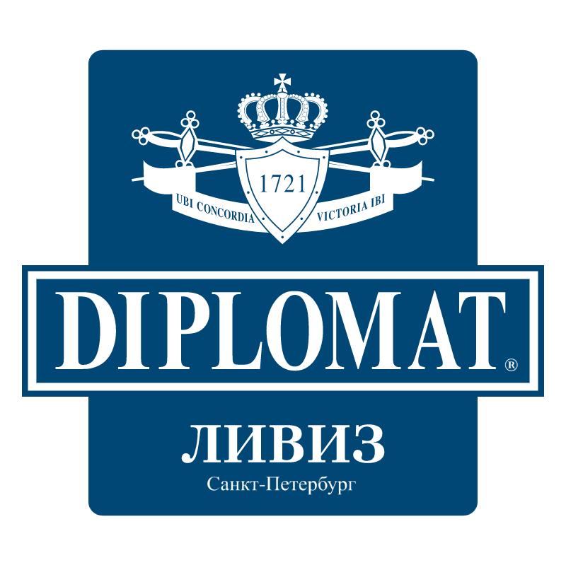 Diplomat vector logo