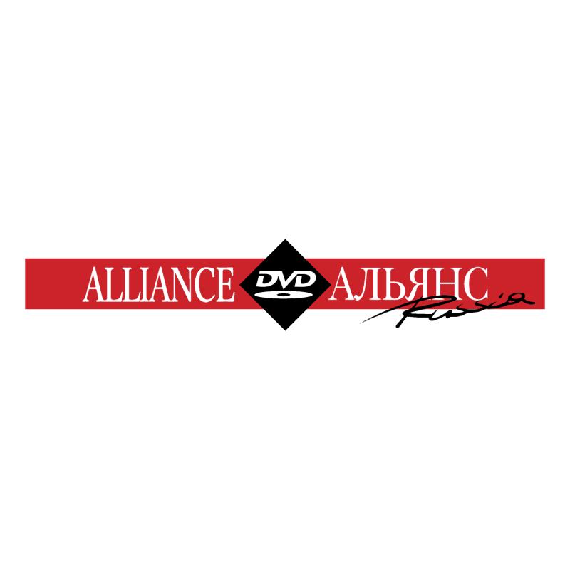 DVD Alliance Russia vector logo