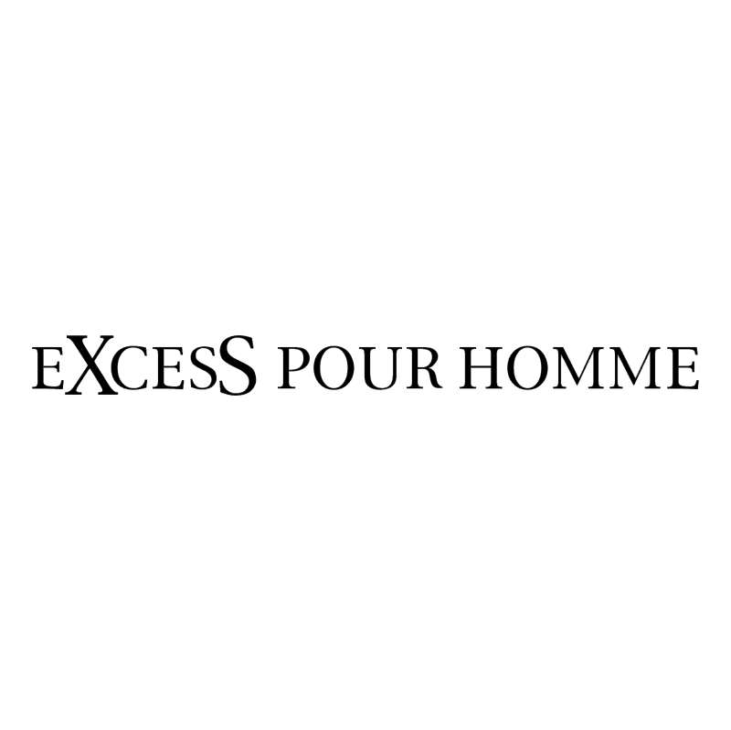 Excess Pour Homme vector
