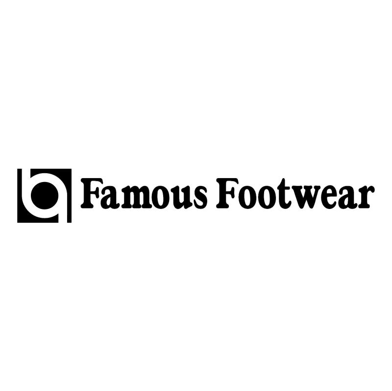 Famous Footwear vector